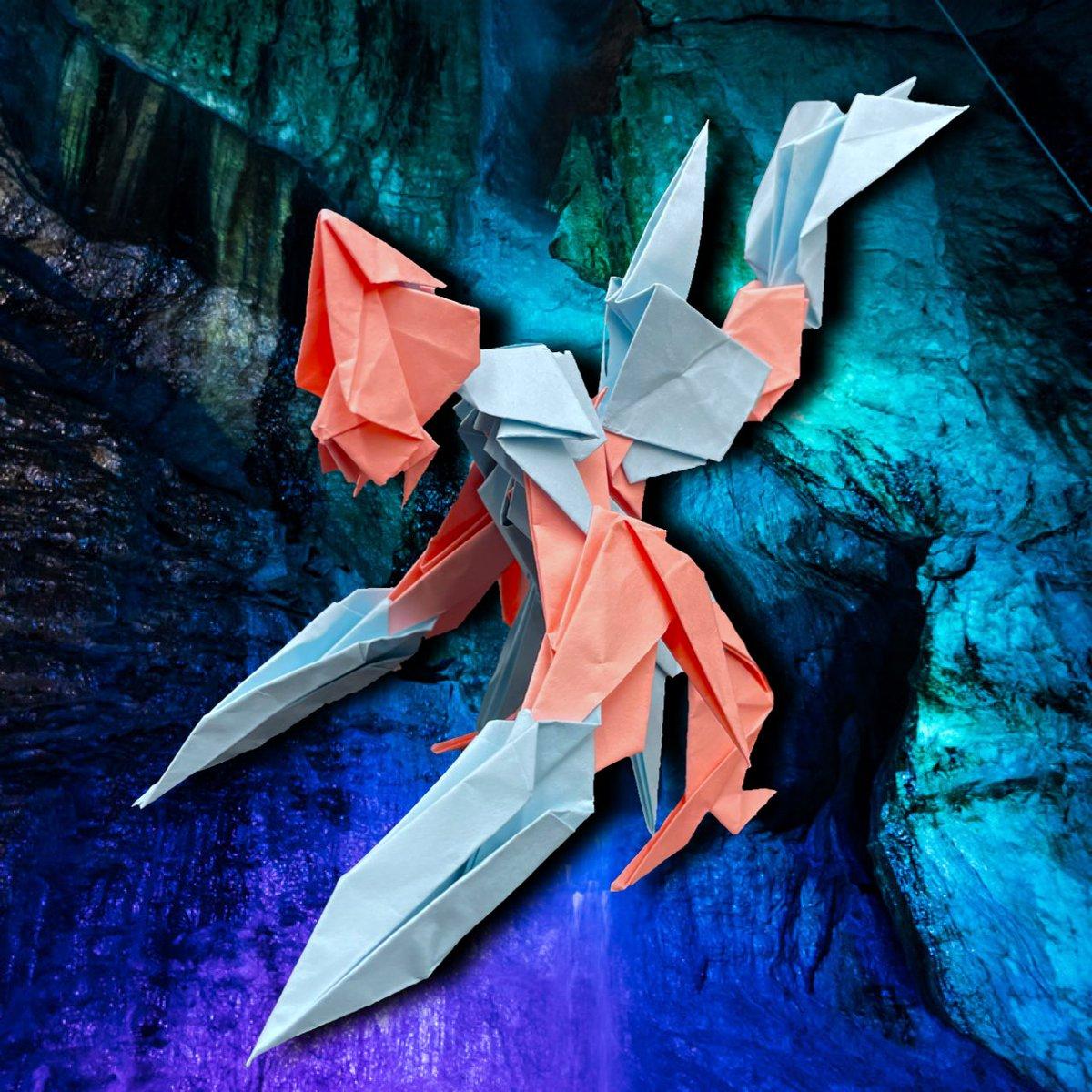 #折り紙 #折り紙作品 #ユニーク折り紙 #組み立て折り紙 #折り紙好きと繋がりたい #作品 #ドラゴン #龍 #竜 #ハンドメイド作家 #手芸 #クリスタル #origami #origamiart #papercraft #folding #uniqueorigami #assemblyorigami #work #dragon #StayHome