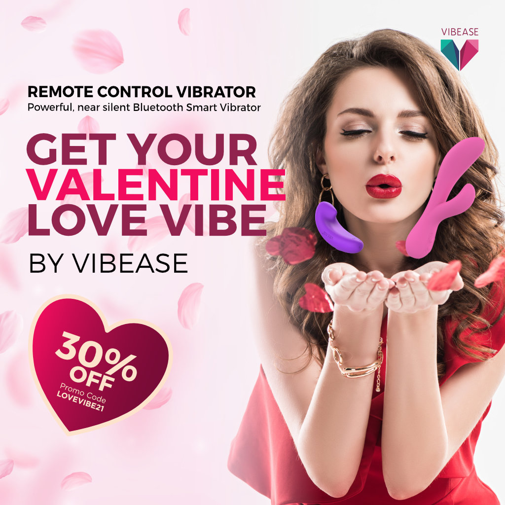 [Now 30% Off] Happy Valentine's Day! Get your valentine the best gift today. @Vibease SMART Vibrator now on sale!  Buy Now:   #vibease #2021 #love #vibe #valentinesday #giftidea #vibrator #sextech #pleasure