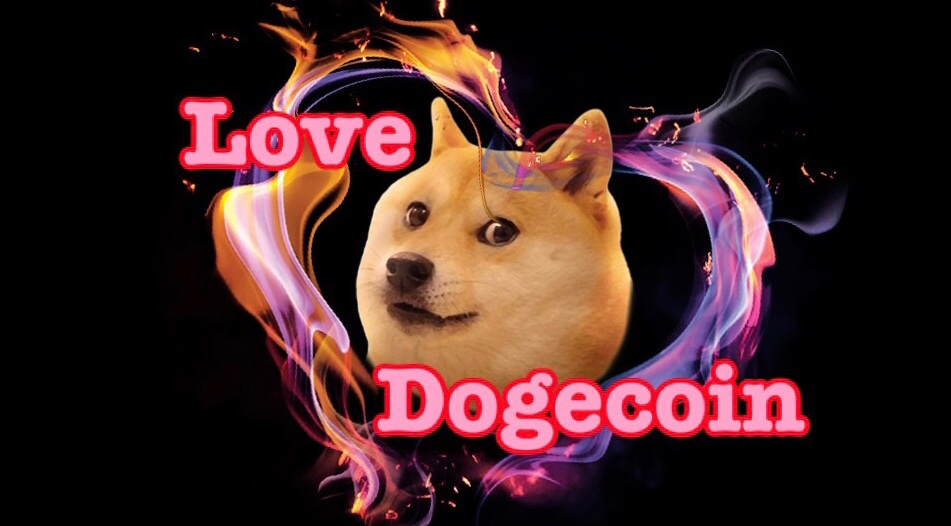 @Frosty19_ Dogecoin love - #Dogecoin #Doge #cryptocurrencies