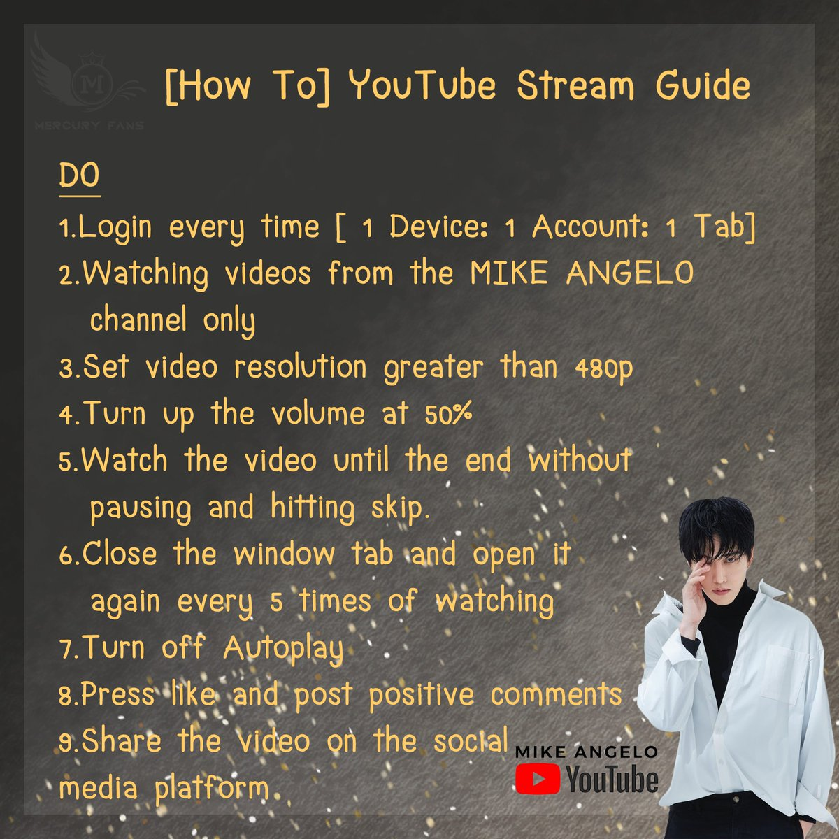 YouTube streaming guide  Repost @m1keangeloth  #ไมค์พิรัชต์ #m1keangelo  #MikeAngeloMercuryFans #MikeAngeloMercuryFansGlobal #mikeangelohollywood #mikeangelocalifornia #mikeangelousa #usa #hollywood #Asian #boy #fashion #style #youtube