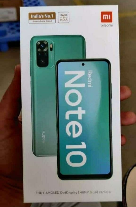 Redmi Note 10 is likely to be offered in more than one interesting colour options.
