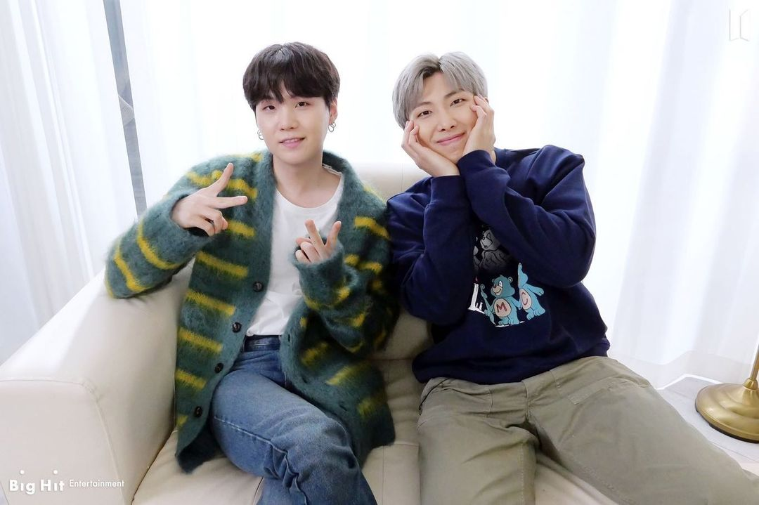 Hiii príncipes 💙🤗  #SUGA #RM #BTS_BE #LifeGoesOn