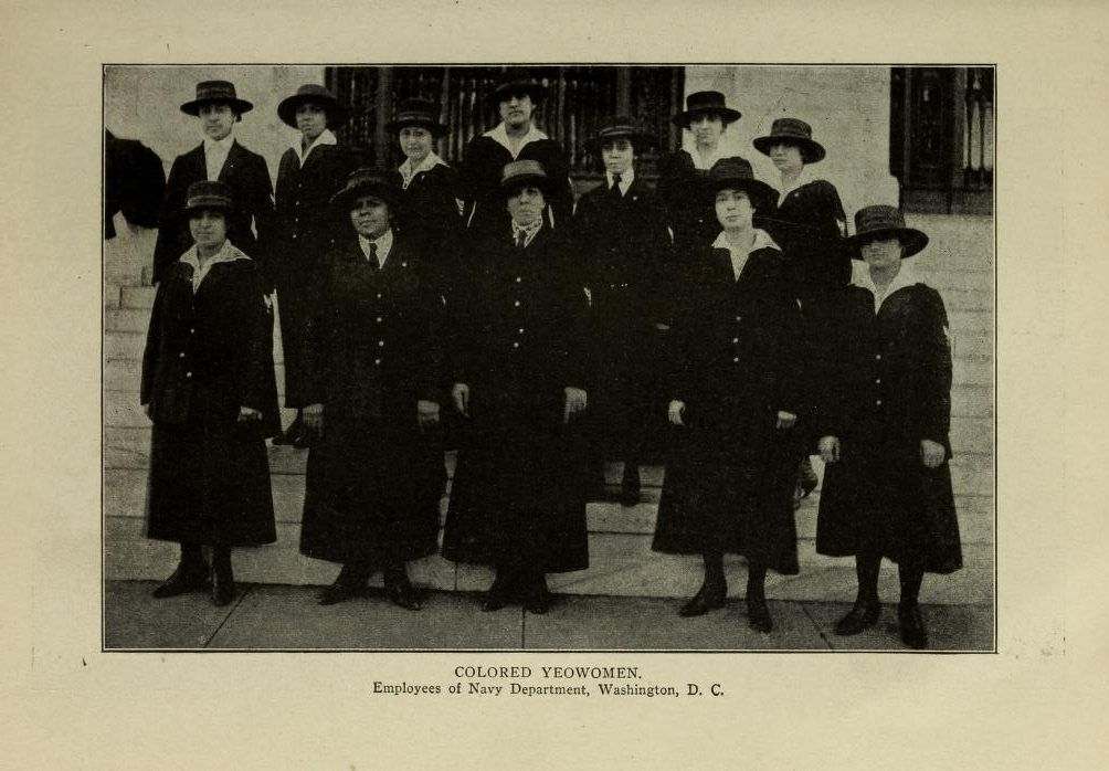 "More on ""the Golden 14"" (the 1st #Black women to serve in the US Navy in #WW1 ) thru @USNatArchives personnel file docs; one was Ruth Davis, grandmother of the late @CommerceGov Secretary Ron Brown. Also lists my blog post on the women.   #BlackHistoryMonth"