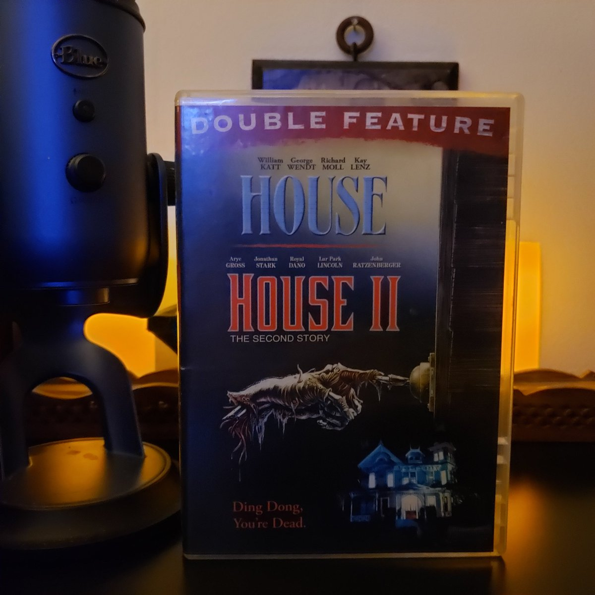 Double-Feature tonight.  #House #HouseII #Horror #HorrorComedy #HorrorFam #MutantFam