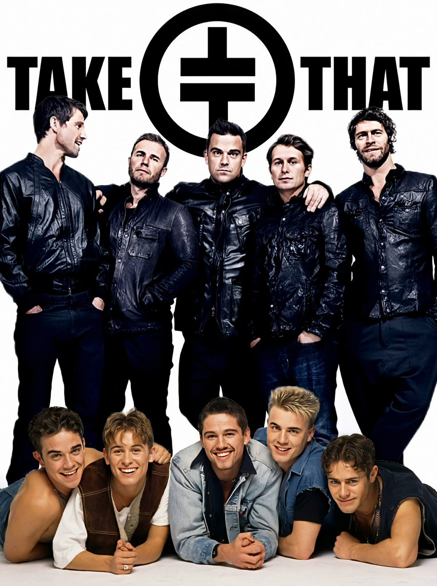 "Morning Thatter's The sun is shining so I'm going to keep this short and sweet and just wish you all the ""Greatest Day"" stay safe guy's xx @takethat @GaryBarlow @HowardDonald @OfficialMarkO @robbiewilliams #TakeThat #GaryBarlow #HowardDonald #MarkOwen #RobbieWilliams #JasonOrange"