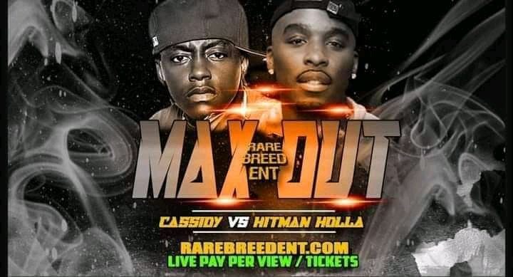 Been a fan of Cass but Hitman gonna sweep this clean, Cassidy can't fit in the battle rap scene no more, there are goons now esp after what @ARSONALDAREBEL did to him a year ago. #April3 #MAXOUT #urltv