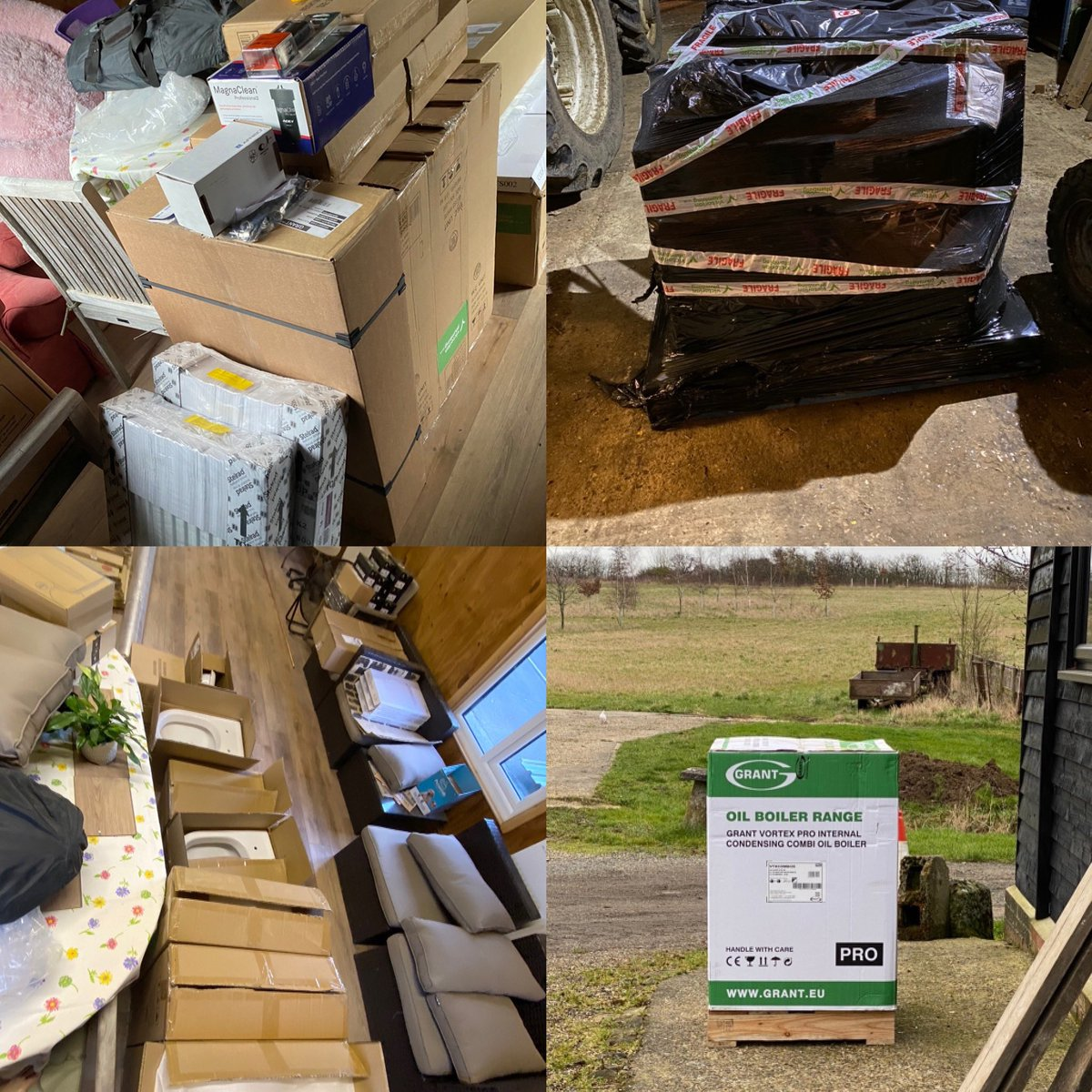 💜 More deliveries are arriving for fitting out the Reiki Room facilities. 💜 #blessings #peace #mindfulness #spirituality #energy #meditation #love #thoughtfulness #events #teaching  #gratitude #reiki #jikiden #jikidenreiki #conference #colour #therapy