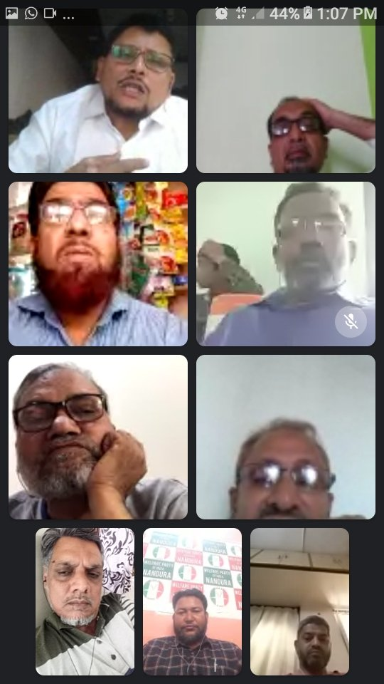 Welfare Greetings After receiving letter from National President  WPI Maharashtra conducted meeting of District presidents. We discussed how to implement policy as guided by NP. Membership campaign from next week, will be giving memorandum to Collectors tomorrow.
