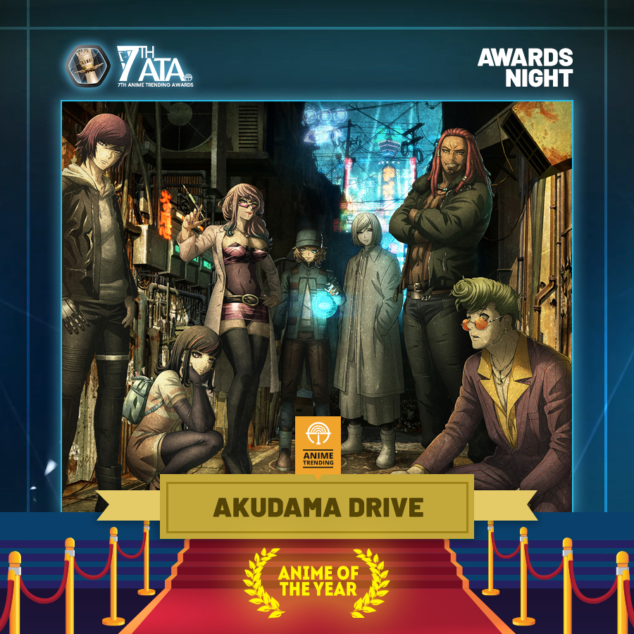 #7thATA ANIME OF THE YEAR: Akudama Drive (Studio Pierrot) Congratulations @akudamadrive!