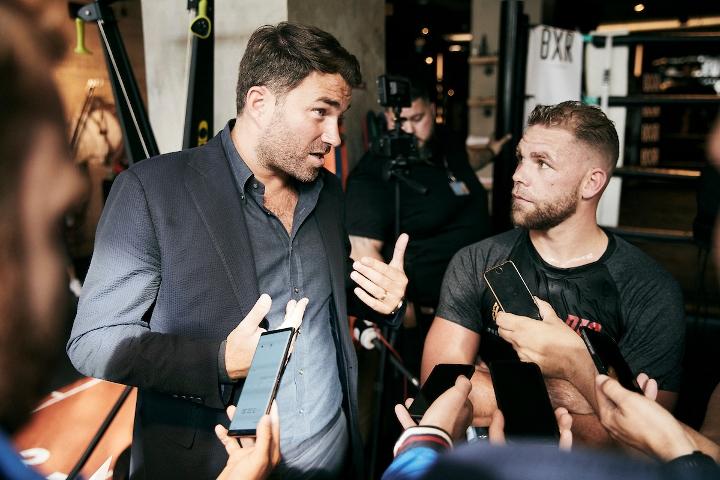 @boxingscene's photo on Saunders