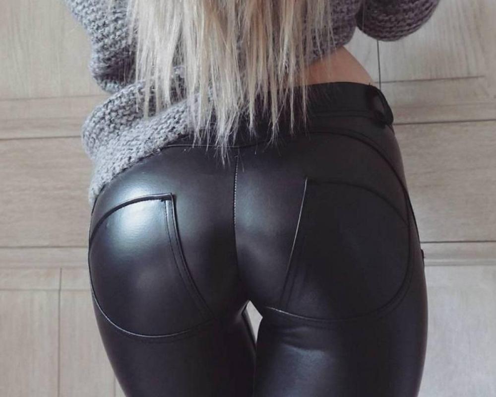 Women's Faux Leather Leggings #summer #style #my