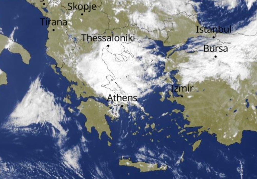 Έχουν ξεκινήσει οι τοπικές βροχές στα ανατολικά, με νότια επέκταση. Τοπικά 7με 8 μποφόρ στο Αιγαίο. Καλημέρα σας. hnms.gr/emy/el/warning…