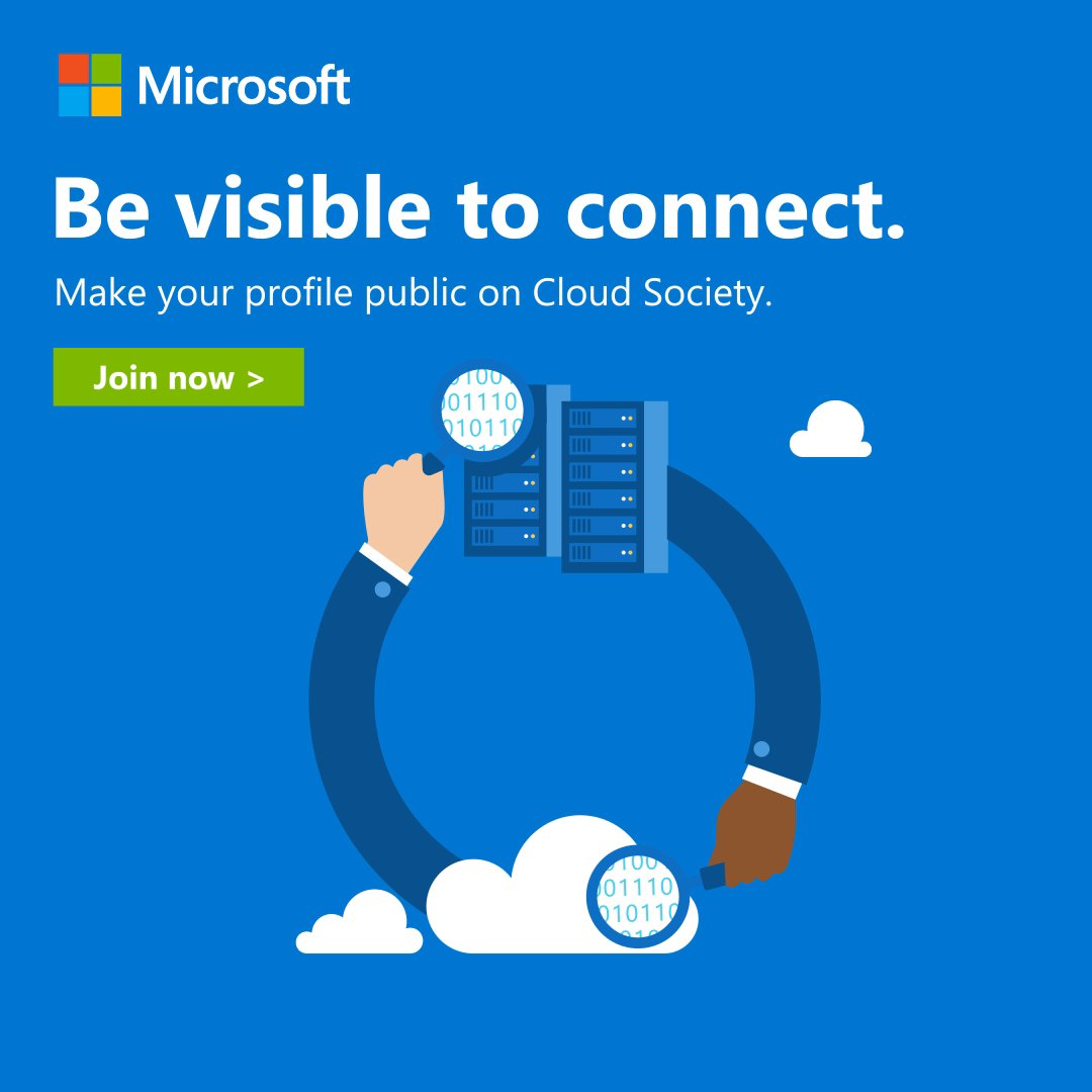 Pitstop is the Microsoft Cloud Society forum. Join discussions and connect with a network that can help you get to the top: https://t.co/dwLymctvHb #CloudSociety #MicrosoftSkills https://t.co/sPXnmXCV5S
