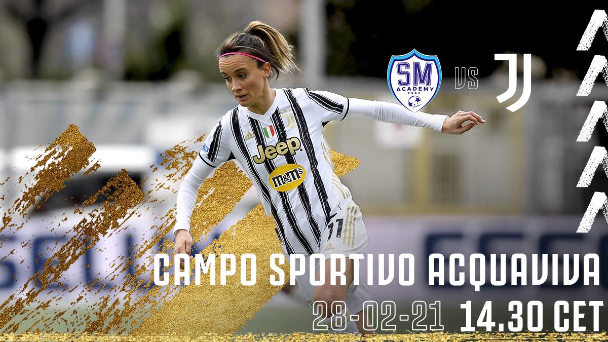 🙌 🄷🄰🄿🄿🅈 🄶🄰🄼🄴 🄳🄰🅈  🇮🇹 @FIGCfemminile  🆚 San Marino Academy 🏟 Campo Sportivo Acquaviva ⏰ 14:30 CET 📲 #SanMarinoJuve