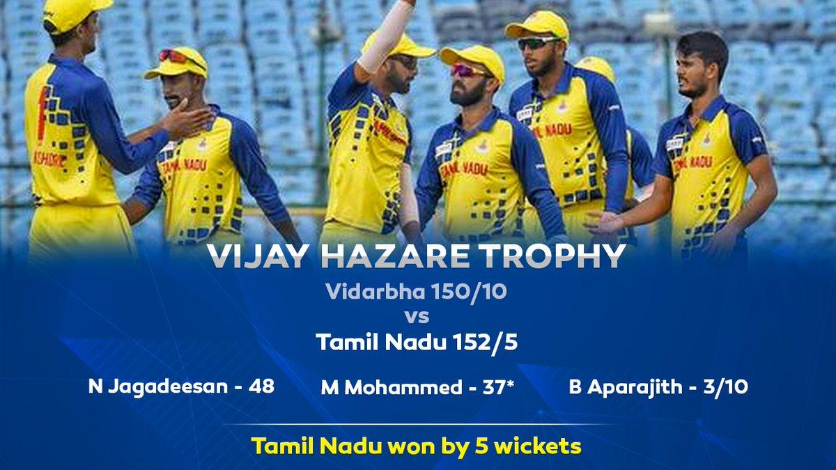 Always proud of the boys and the performance 💪🏻 #VijayHazareTrophy