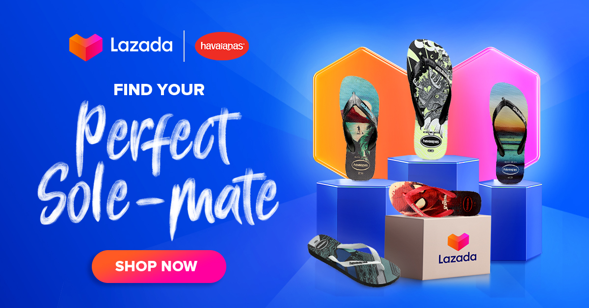 ‼️Havaianas Perfect Sole-mate‼️ 🛒SHOP NOW!➡  🛒SHOP NOW!➡   🚚Cash on Delivery  **Price is subject to change without prior notice  #LazadaFinds #LazadaPH #LazadaxKathryn #payday #NasaLazadaYan #pinayfeet #filipinafeet #shoponline