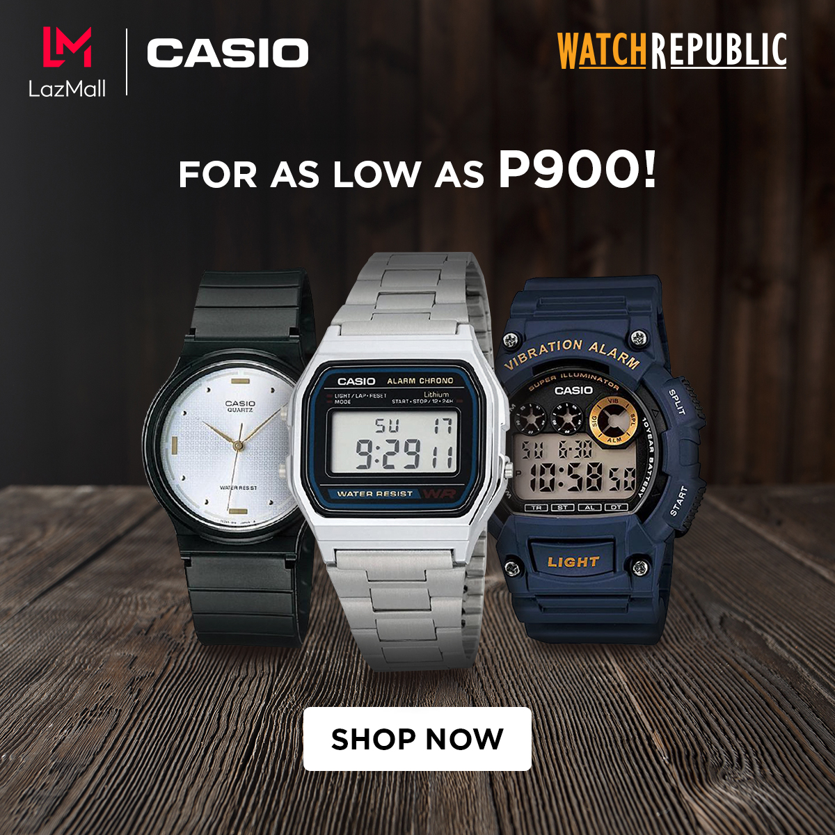‼️Watch Republic for as low as P900‼️ 🛒SHOP NOW!➡  🛒SHOP NOW!➡   🚚Cash on Delivery  **Price is subject to change without prior notice  #LazadaFinds #LazadaPH #LazadaxKathryn #LazadaxLMH  #payday #NasaLazadaYan #shoponline