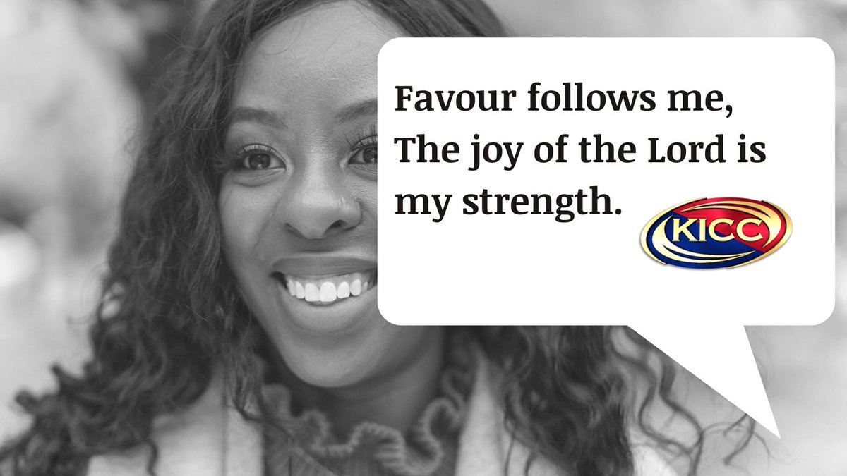 Morning Declaration with KICC Dublin: Favour follows me, the joy of the Lord is my strength... #MorningMotivation #MondayMorning
