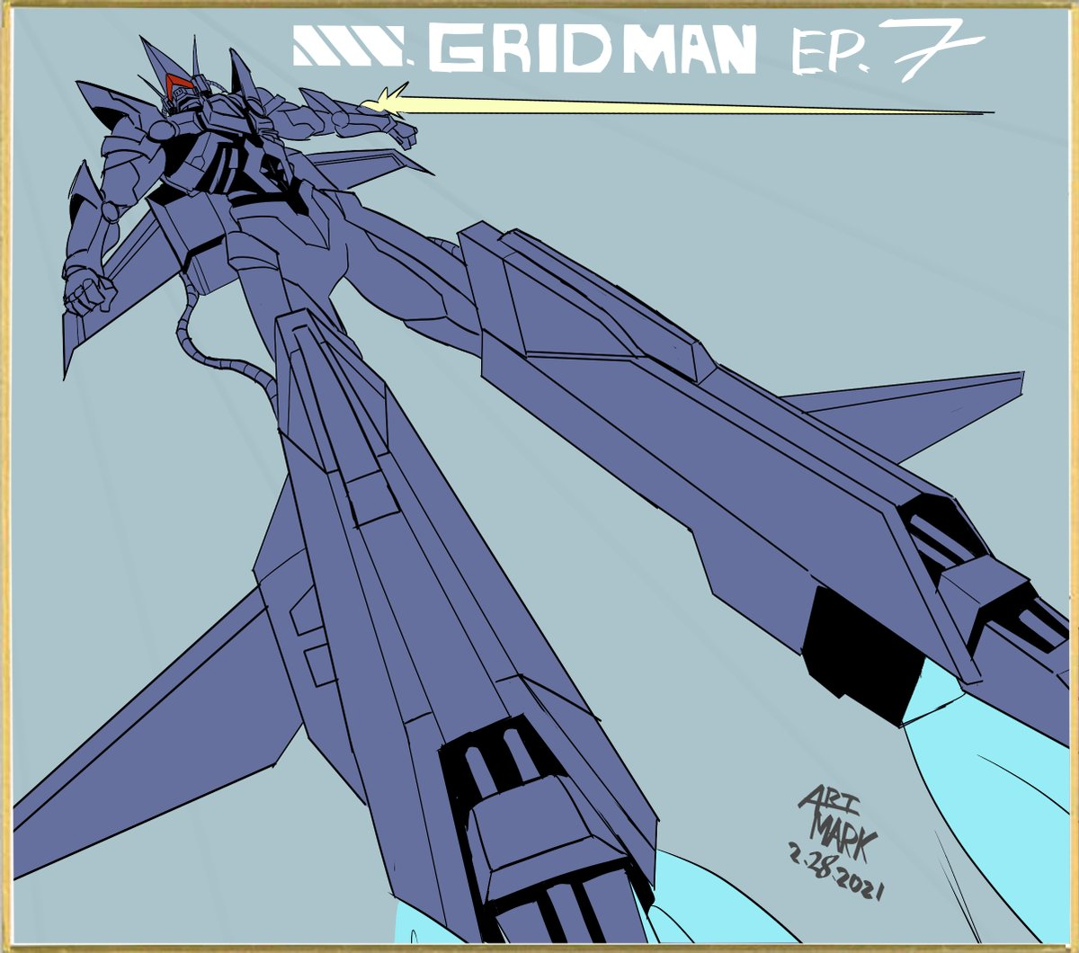 SSSS.GRIDMAN episode 7 broadcasting now on Toonami/ @adultswim  Please check it out! #SSSS_GRIDMAN #Toonami #anime #StudioTrigger #SSSS_DYNAZENON #GRIDMAN #Trigger #SSSSGRIDMAN