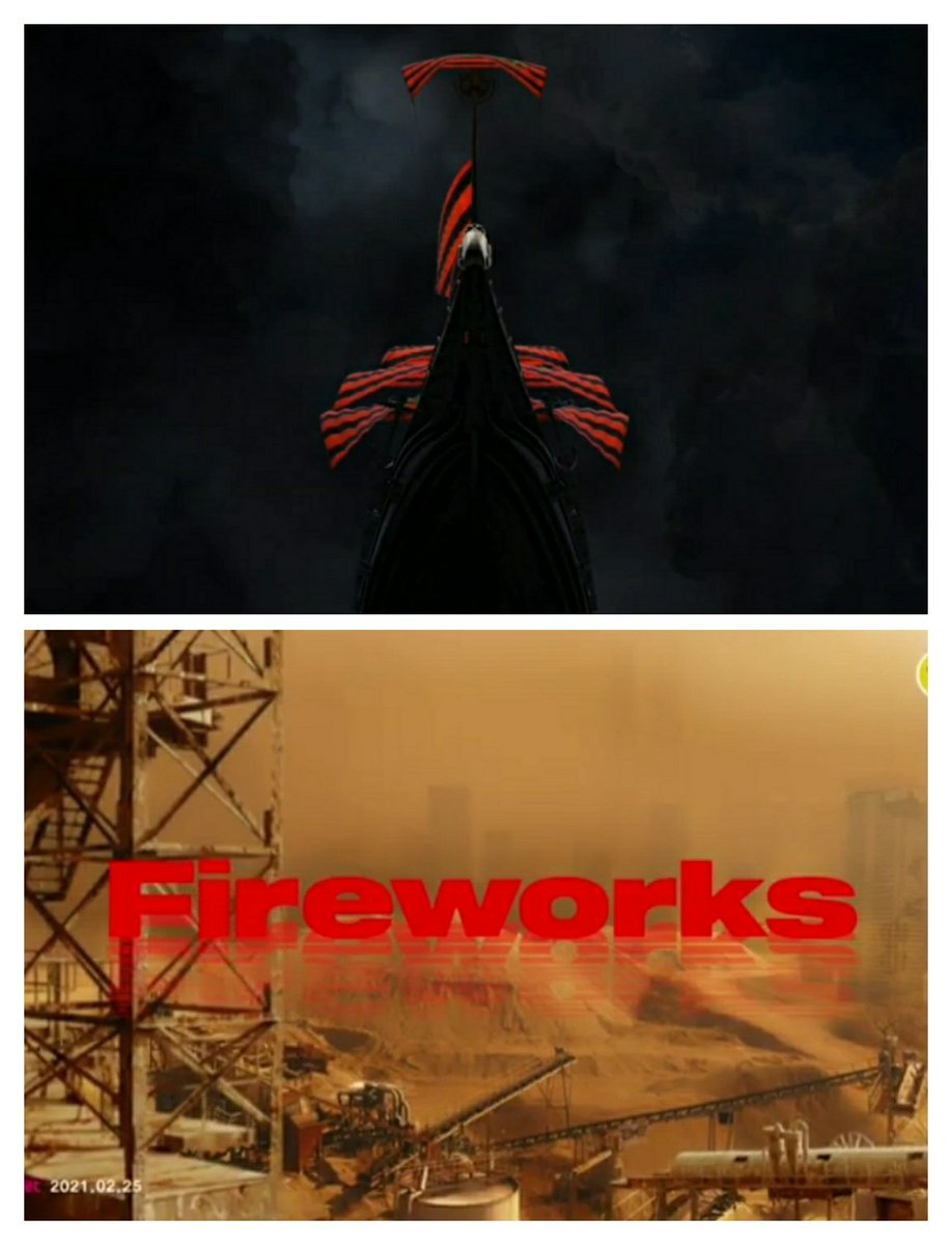 ending Thanxx sama awal Fireworks musiknya mirip, baru nyadar 😭.   #FEVER_Part_2 #BURNINGFORATEEZ  #ATEEZ @ATEEZofficial