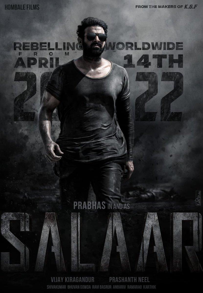 #SalaarReleaseDate 14-04-2022 #Salaar #Summer2022