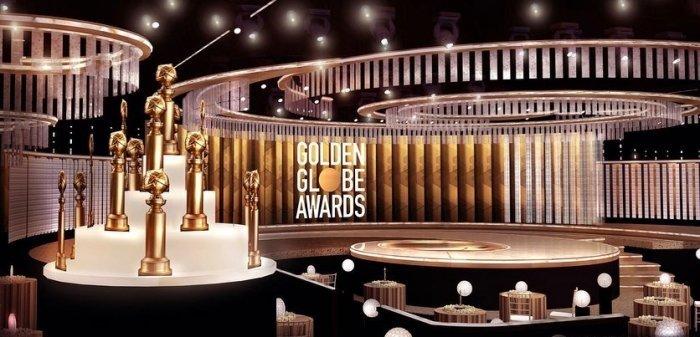 وقد كشف المنظمين عن صور جديدة لقاعة توزيع الجوائز بعد تنفيذ بعض التعديلات لتتناسب مع الإجراءات الاحترازية التي تم اتخاذها من أجل الحد من انتشار #فيروس_كورونا  #GoldenGlobes