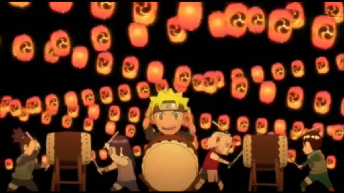 #Shippuden #Toonami Never did I thought they'll aired the Jinchuuriki count down song  (Usually they don't show the omakes (shorts that come after or this case beginning of the episode) due to time)  And because this song was sung in Japanese does that mean Viz never dubbed it ?