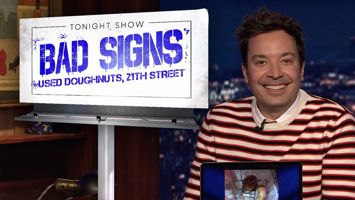 Jimmy shares some of his favorite fan-submitted Bad Signs!