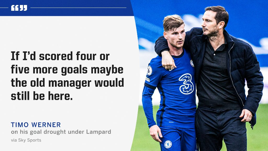Werner opened up about his time under Lampard 👀