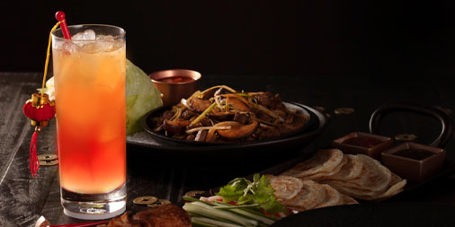 Enjoy glowing good fortune with your next meal. Raise a glass to our #LunarNewYear cocktail, the Red Lantern. Make a reservation.