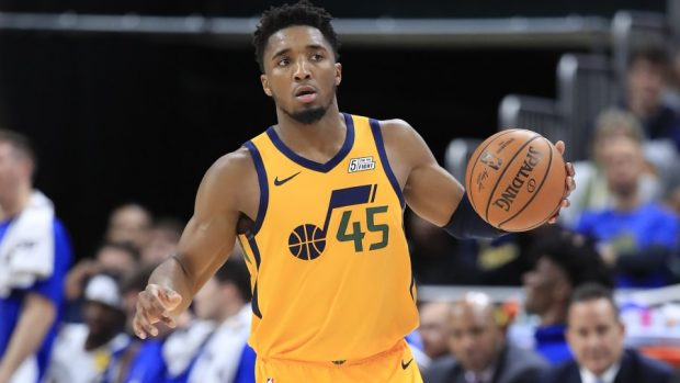 Brewster Academy graduate Donovan Mitchell '15 had 31 points & 6 assists for #TakeNote in #NBA win over Orlando on Saturday.