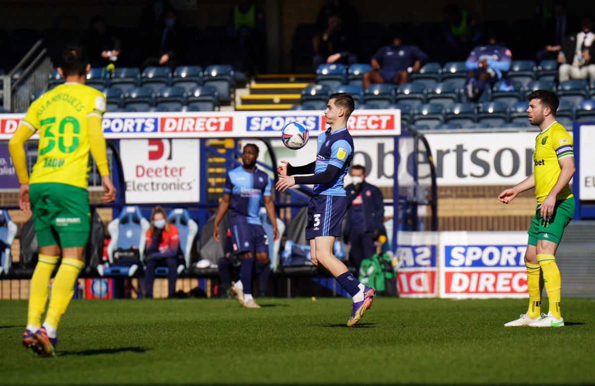 Every time we threaten to get some combinations together Wycombe are shutting it down #NCFC
