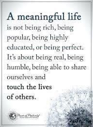 On a meaningful life 💕  #SundayMorning  #SundayMotivation