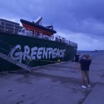 Image for the Tweet beginning: Good to see @Greenpeace's Arctic