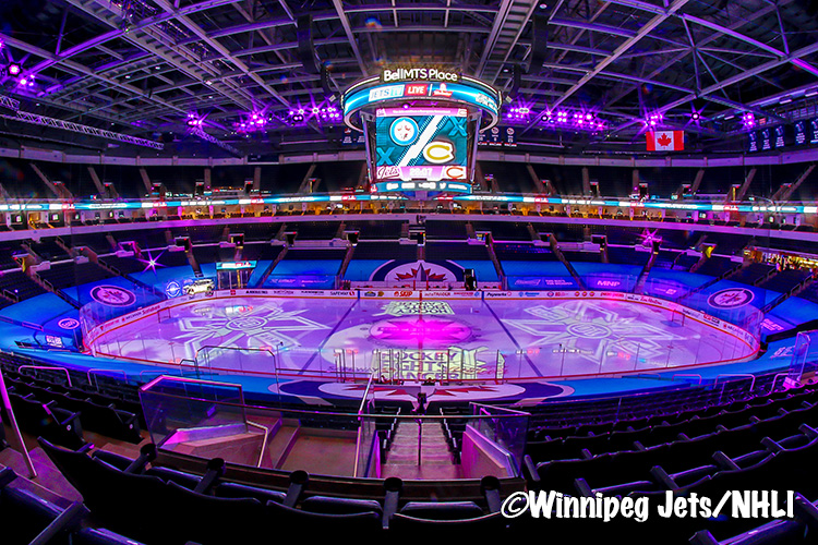 The #NHLJets picked up a 2-1 overtime win on #HockeyFightsCancer night against the #Habs. Check out all of the game photos in our gallery here >>   #GoJetsGo #MTLvsWPG #NorthDivision  (📸@pointshotphotog & Darcy Finley) (edited by: @SecretNinja27 )