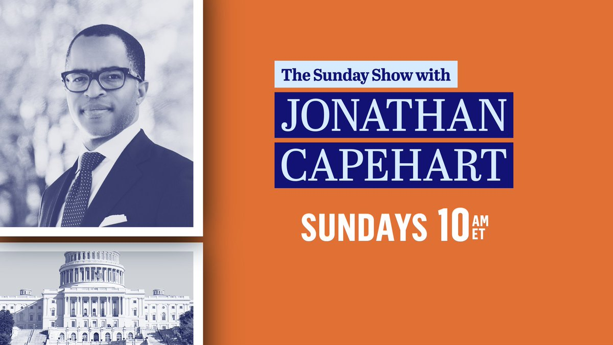 It's #Sunday, and our team is getting ready for @TheSundayShow! @CapehartJ has a great edition for you coming up in minutes. See you all this #SundayMorning at 10 AM ET on @MSNBC. RETWEET if you'll be watching!