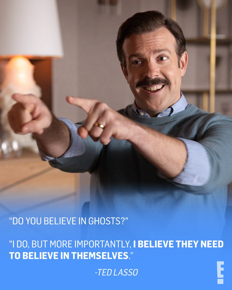 Things we believe in: Ted Lasso, fútbol and Jason Sudeikis winning his first #GoldenGlobe. 🤞We refuse to settle for a tie. (📷: Apple TV+)
