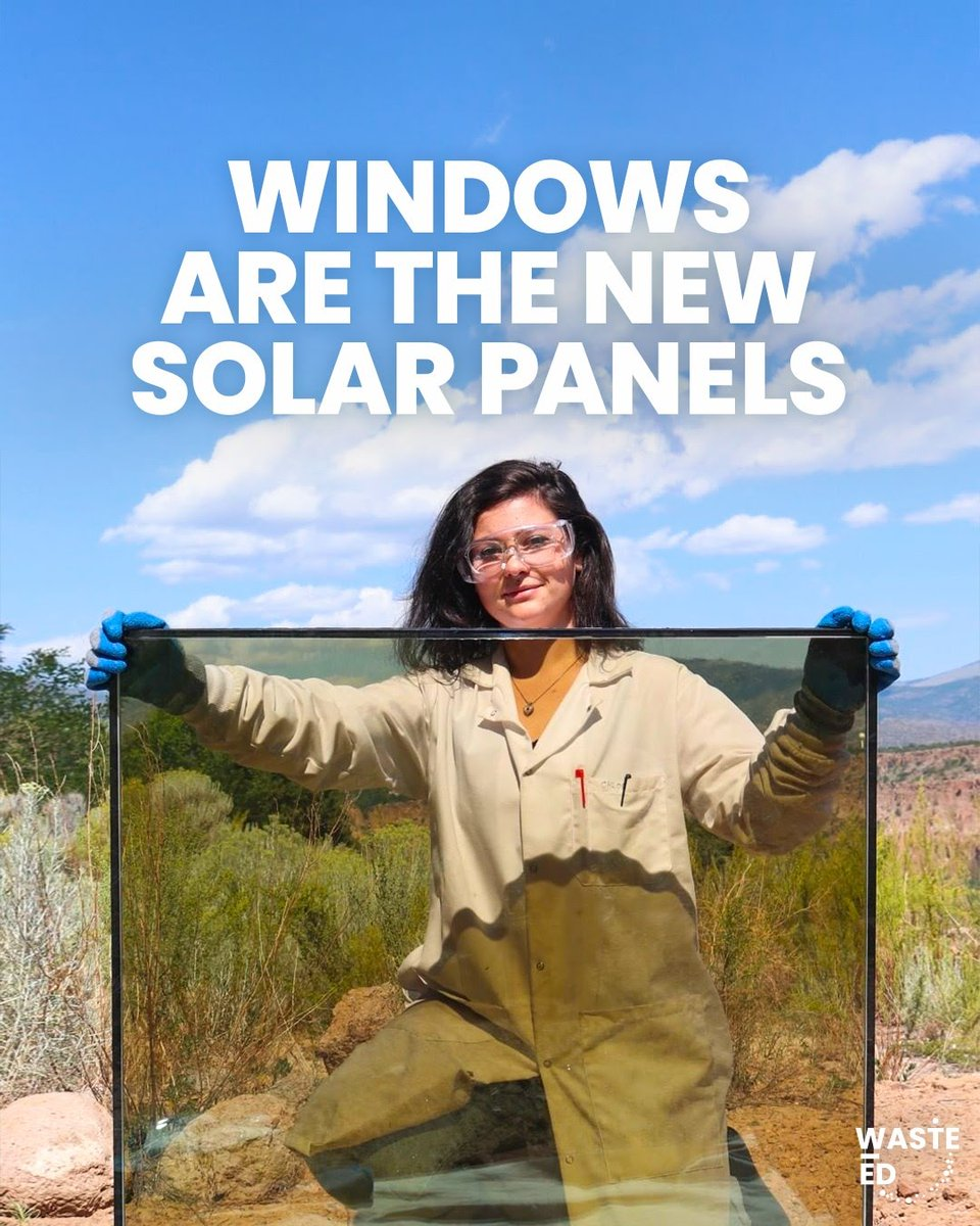 These windows generate electricity thanks to microscopic 'quantum dots' that harvest solar energy.
