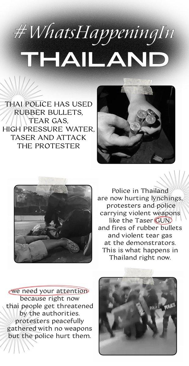 RT @fullsunmarryme: pls rt and share this tw📁❕   #WhatsHappeningInThailand #ม็อบ28กุมภา https://t.co/id035FWs5E