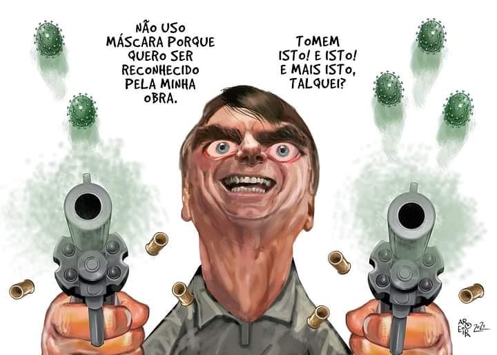 @jairbolsonaro Segue com a necropolítica aí, #BolsonaroBroxa