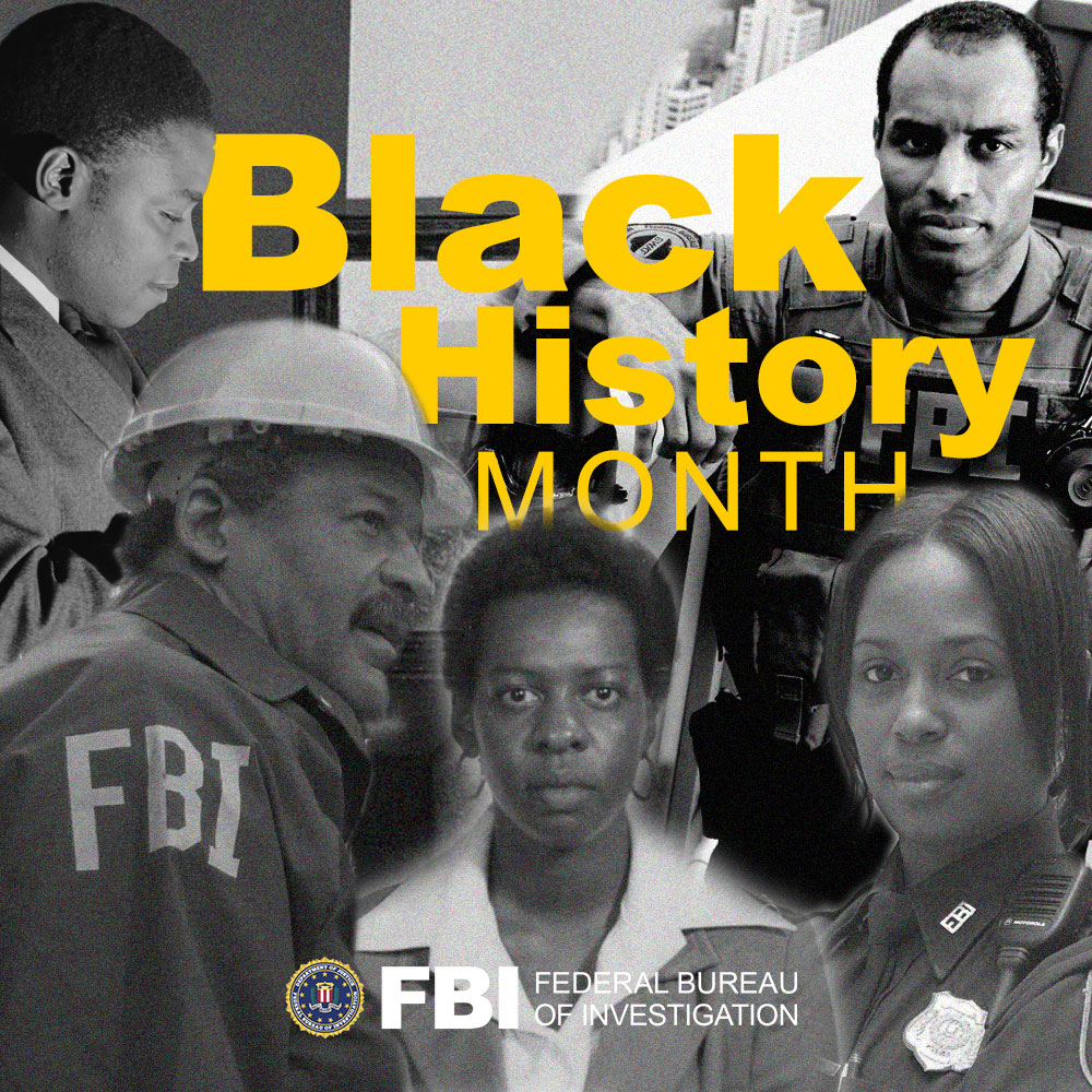#FBINewOrleans appreciates the diversity of our workforce and we thank our African-American colleagues for their steadfast loyalty to the #FBI, the constitution and the communities and citizens we serve to protect. #BlackHistoryMonth
