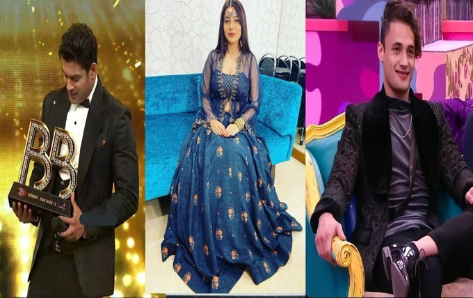 Who Is The Most Popular Celebrity Of India?   Like : #SidharthShukla Retweet : #ShehnaazGill  Comment : #AsimRiaz