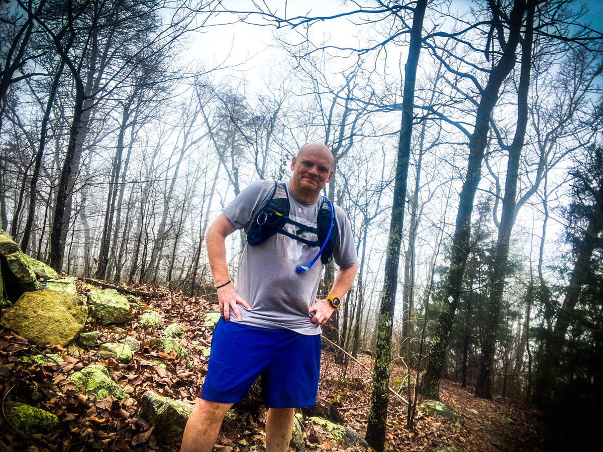 Thankful for another month of running. Missed some days, but got back to the trails and did 15 on the Pinhoti yesterday. Looking forward to the @runthecohuttas Grassy Mountain 30k in March with some great folks. #thankful #SundayThoughts #Sunday #SundayMotivation #milesformike