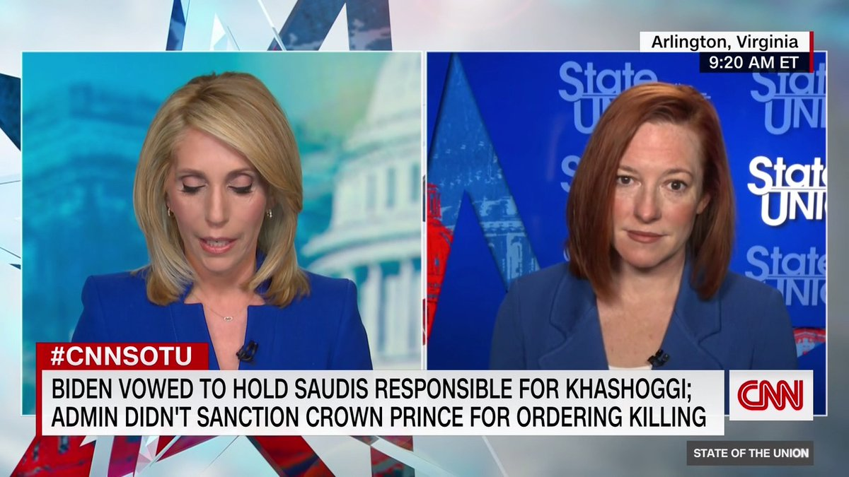 """White House Press Secretary Jen Psaki on the sexual assault allegations against NY Gov. Andrew Cuomo: """"There should be an independent review of these allegations. They're serious. ... That's something we all support and the President supports"""" #CNNSOTU"""