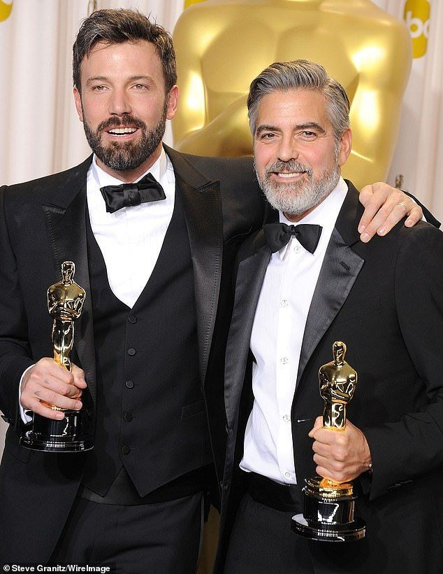 RT @BstOfAffleck: Ben Affleck And George Clooney, at The Academy Awards, 2013. https://t.co/RgETqiA22V