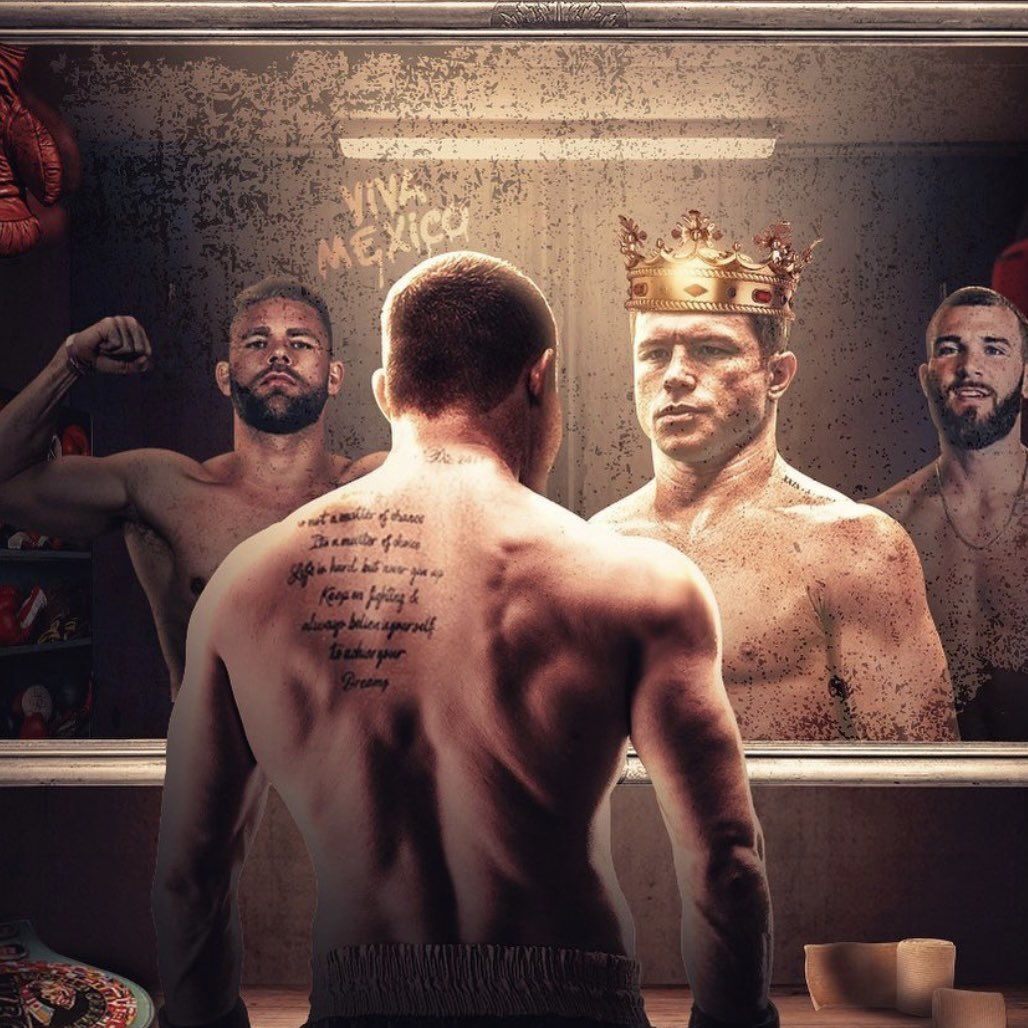 There are two men that stand in the way of @Canelo becoming the undisputed king of the super middleweight division 👑   (via @ESPNMX)