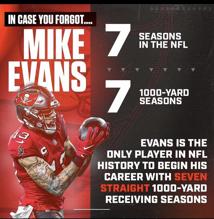 And add #SuperBowlLV champ to his resume #gobucs #mikeevans