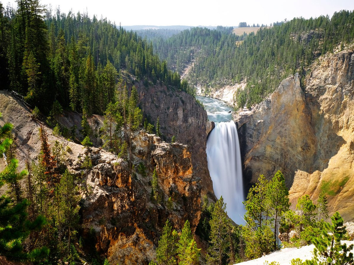 1 Mar 1872: #President Ulysses S. Grant signs legislation into law  establishing #Yellowstone National Park. The park is in Wyoming, Montana, and #Idaho. It is the first national park in the U.S. and believed to be the first national park in the world. #ad