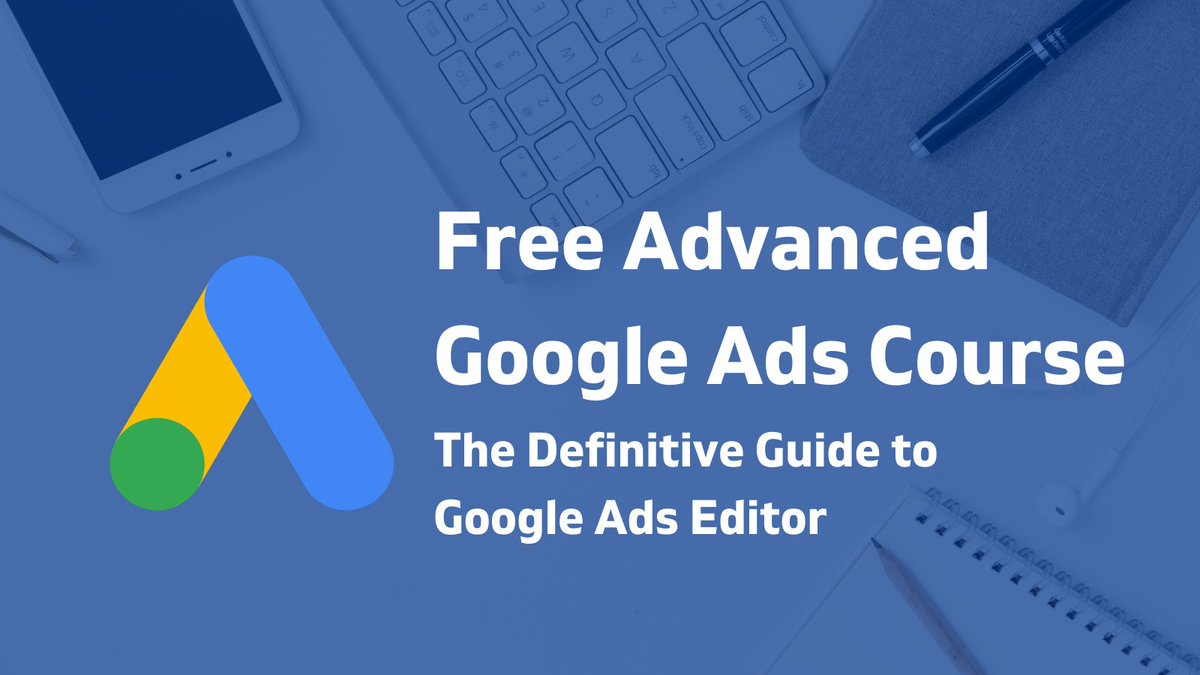 💰 #Google #Ads Editor will help you save time and save you from the extreme stress and hassle that comes with #PPC #advertising. Head out to our #Free #GoogleAds #Course & learn more details about Google Ads Editor👇  #digitalmarketing #marketing #business