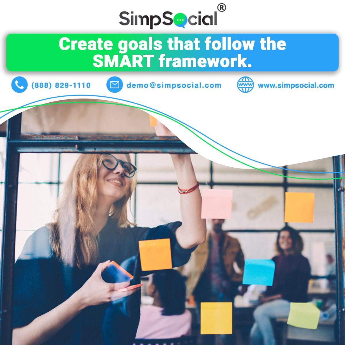 Creating a goal and following the SMART framework is a quick path to success!  💻  📞(888) 829-1110  #leadgeneration #marketing #digitalmarketing #socialmediamarketing #cardealer #car #businesstips #socialCRM #clients #carguys #SMSleads